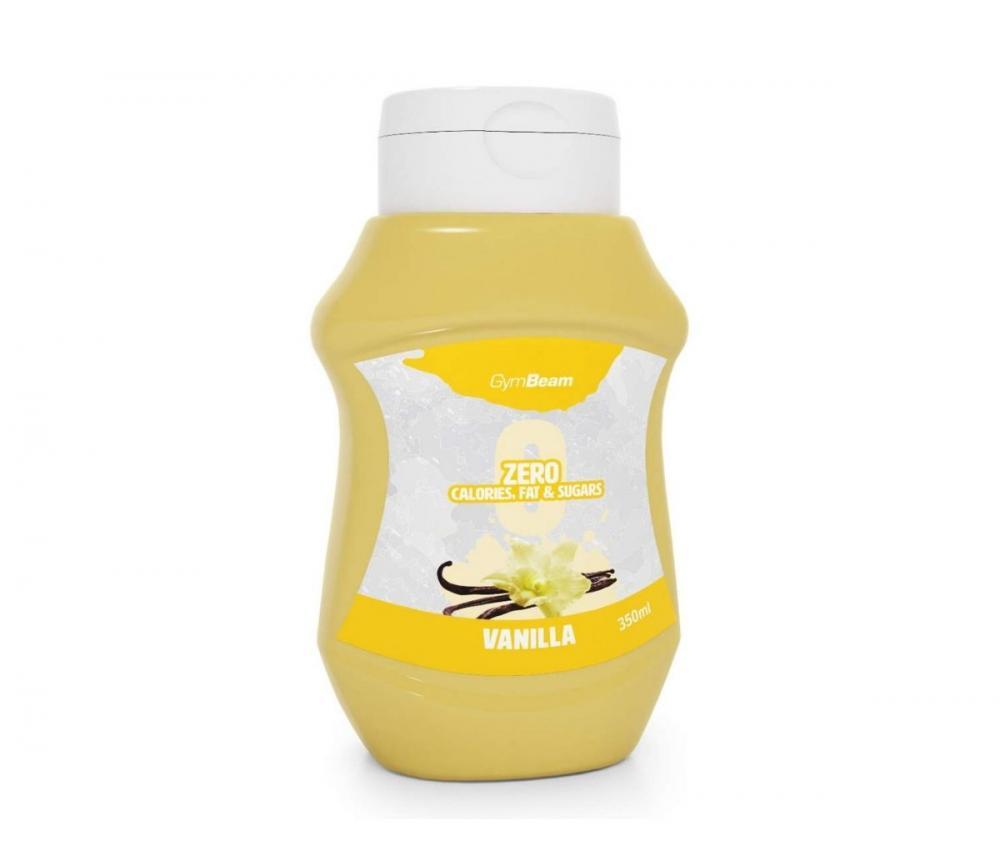 GymBeam Zero Calorie, 350 ml, Vanilla, päiväys 10/21