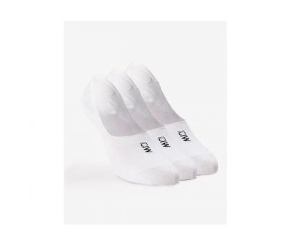 ICIW Invisible Socks 3-pack White