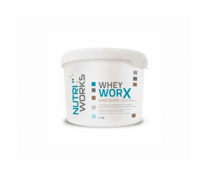 Nutri Works Whey WorX With Lactase & Digestive Enzymes, 4kg