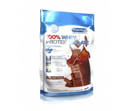 Quamtrax 100% Whey Protein Isolate, 2kg