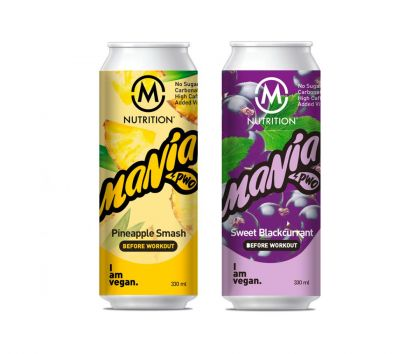 M-NUTRITION Mania Before Workout valmisjuoma, 330 ml
