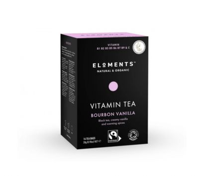 ELOMENTS Bourbon Vanilla -vitamiinitee
