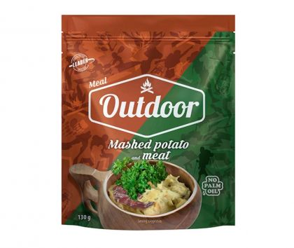 Leader Outdoor Mashed Potatoes and Beef, 140g