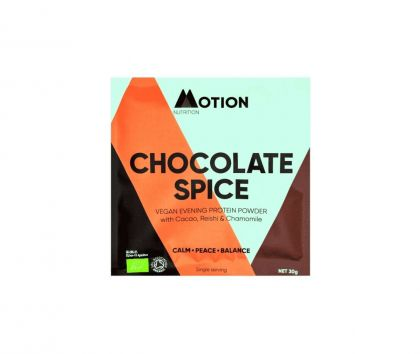 Motion Nutrition Chocolate Spice Protein, 12 x 30g