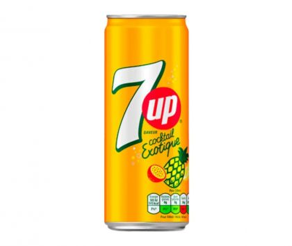 7UP Cocktail Exotique, 330 ml