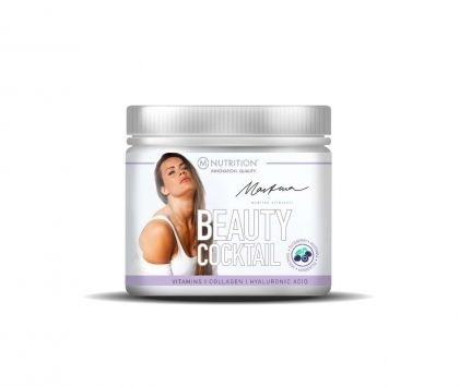 M-NUTRITION X Martina Beauty Cocktail, 250g, Blueberry