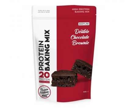 Bodylab Protein Baking Mix, Double Chocolate Brownie, 400g