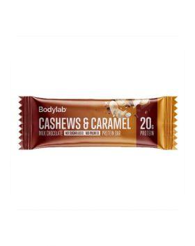 Bodylab Protein Bar, 65g, Cashew Caramel