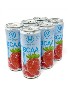 M-NUTRITION BCAA, Wild Strawberry 6-pack