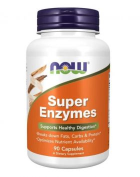 NOW Foods Super Enzymes, 90 kaps.