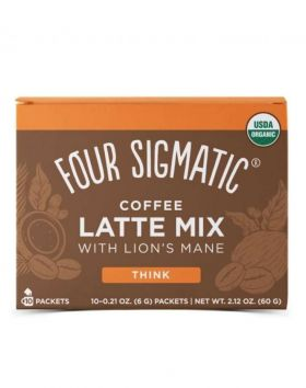 Four Sigmatic Coffee Latte Mix, 10 x 6g