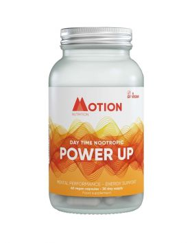 Motion Nutrition Power Up, 60 kaps.
