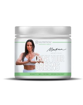M-NUTRITION X Martina Drink Your Greens, 200g, Lime-Mint