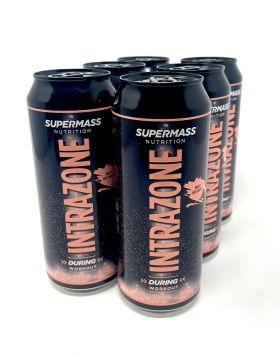 SUPERMASS NUTRITION Intrazone valmisjuoma, Sweet Red Grape 6-pack