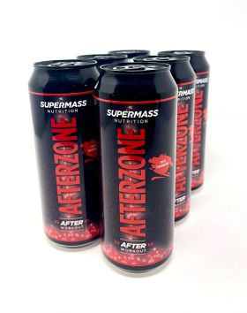 SUPERMASS NUTRITION Afterzone valmisjuoma, Fresh Strawberry 6-pack