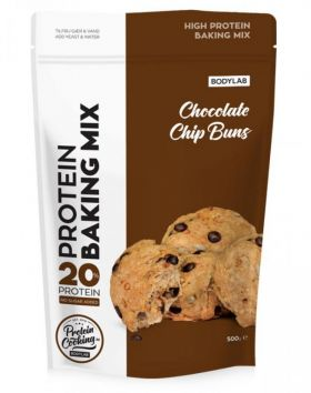 Bodylab Protein Baking Mix, Chocolate Chip Buns, 500g