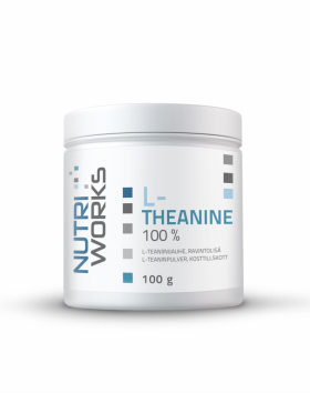 Nutri Works L-Theanine 100 %, 100g